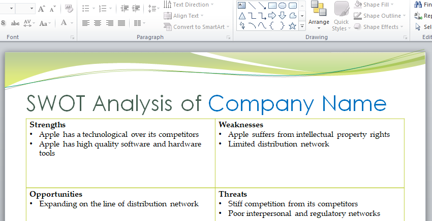 Apple company assignment