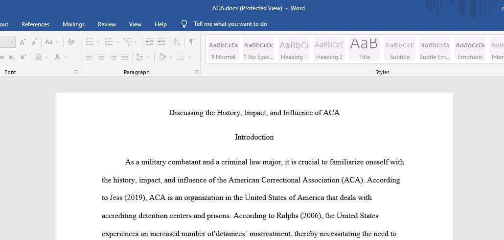 Correctional Systems & Practices Research Paper